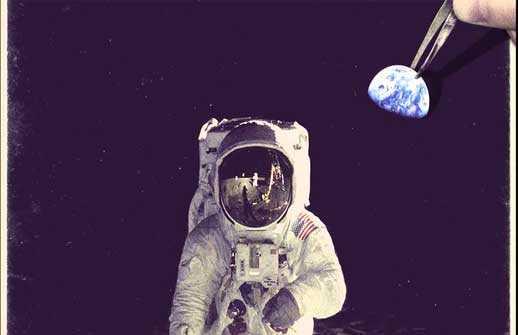 Der Mondlandungsschwindel in den Medien