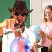 Flat Earth Man – Glaub nicht an Gravitation!